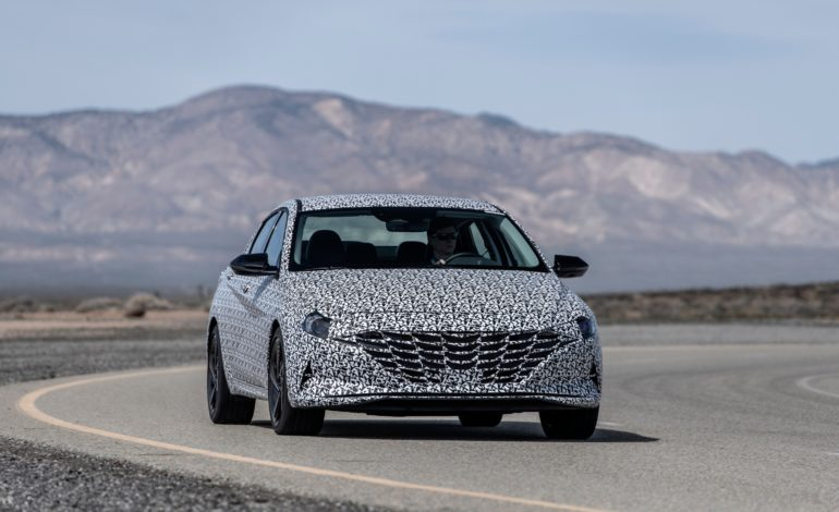 Hyundai Previews All-New Elantra N Line Model