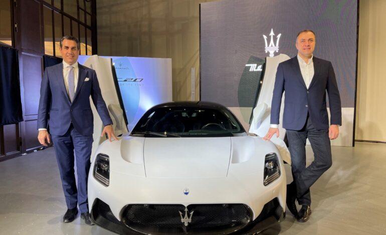 Maserati MC20 makes its debut in Qatar