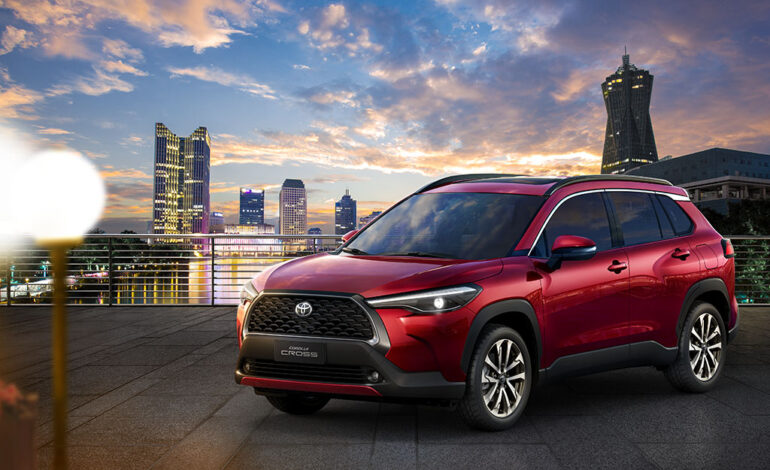 AAB launches the All-New Electric Hybrid Corolla Cross at Milipol Qatar 2021