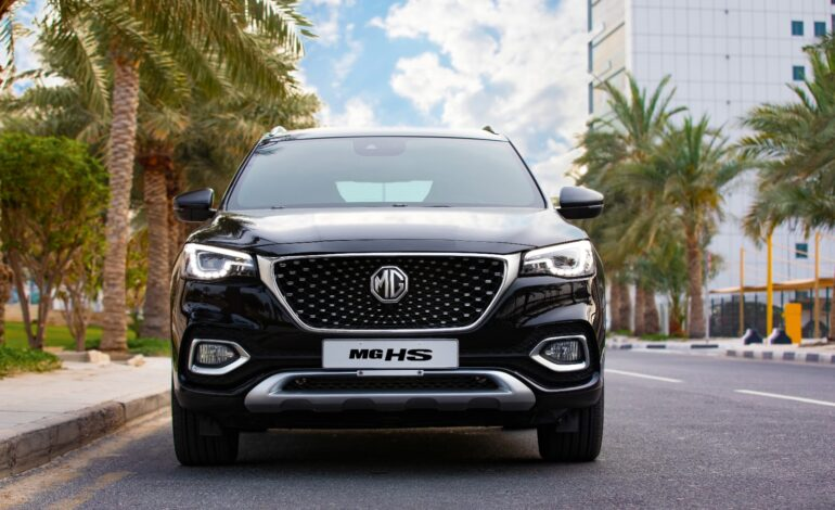 MG HS The Sportiest SUV in Qatar with Elegant Sporty Design, Classy Interior, and Powerful Engine