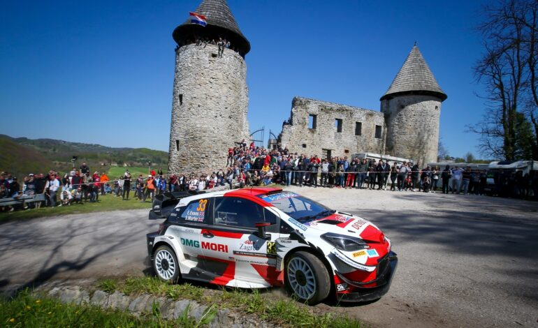 GAZOO Racing claims one-two victory with an incredible finish at Croatia Rally