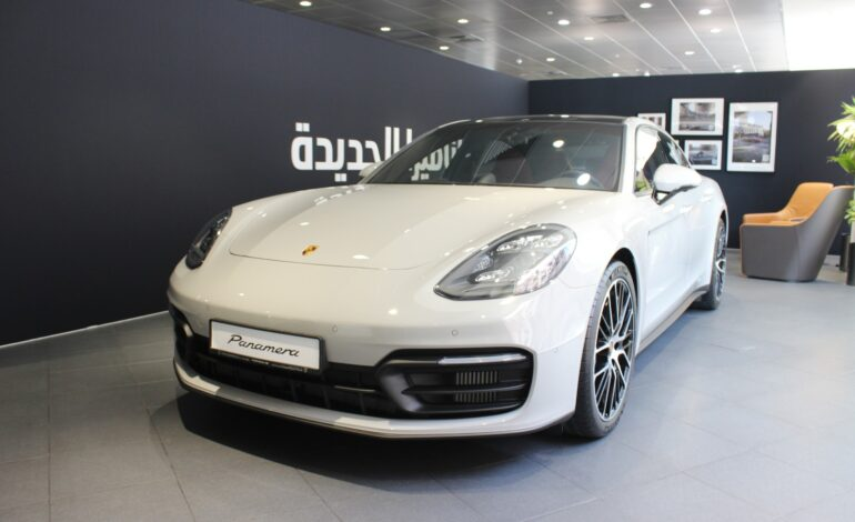 Porsche's latest Panamera offering more power and sportier looks