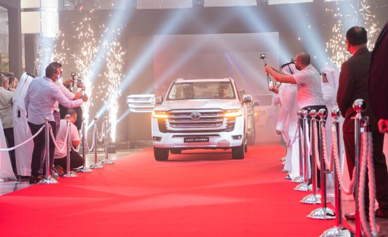 Abdullah Abdulghani & Bros. Co. celebrates the launch of the All-New 2022 Land Cruiser in Qatar