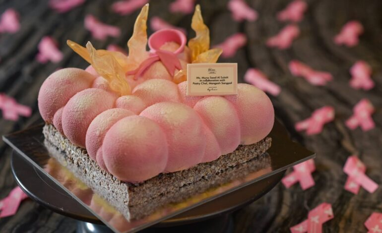 Alwadi Doha – MGallery Hotel Collection Collaborates with Qatari Designer to Show Support for Breast Cancer Awareness Month