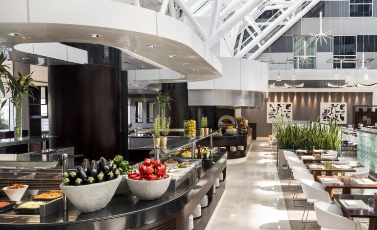 Choices restaurant at Hyatt Regency Oryx Doha launched a new themed buffet dinner.
